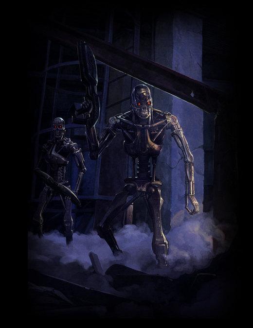 Terminator por Concept-Art-House