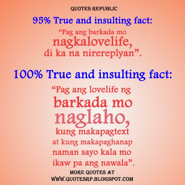 Insults Quotes Tagalog images
