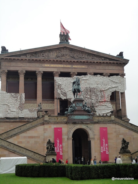Alte National-galerie - Ilha dos Museus, Berlim