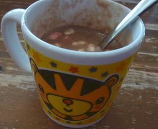 hot chocolate treat
