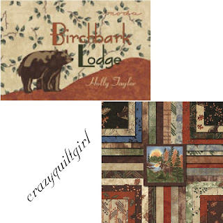 Moda BIRCH BARK LODGE Quilt Fabric by Holly Taylor
