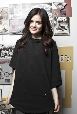 Lucy Hale's Vans Girls Photoshoot by Celina Kenyon