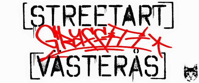 Graffiti, Streetart och Konst  - Västerås, Sweden