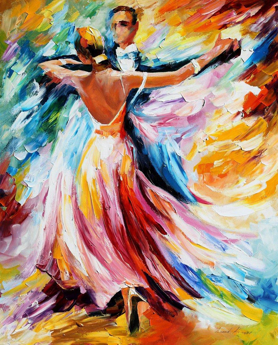 Красивый простой танец девушки