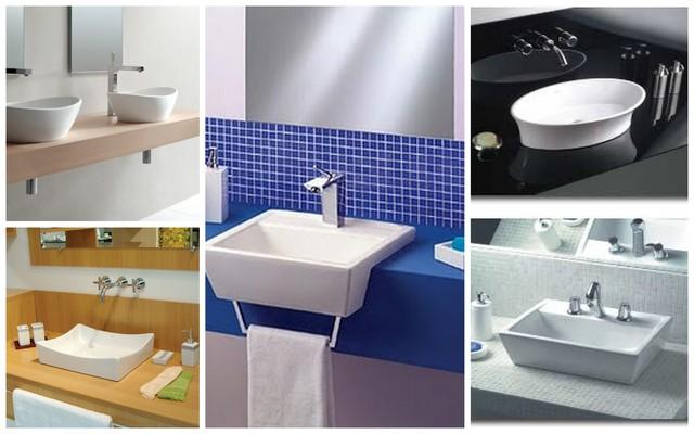 Decoração 30 cubas e bancadas de banheiro para inspirar!  Cores da Casa -> Tamanho De Uma Cuba Para Banheiro