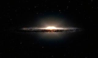 3D изображение Млечного пути