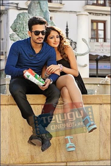 Akhil Akkineni movie stills,Akkineni Akhil first look,Akhil first movie stills,Akhil movie details,Akhil vv vinayak movie gallery