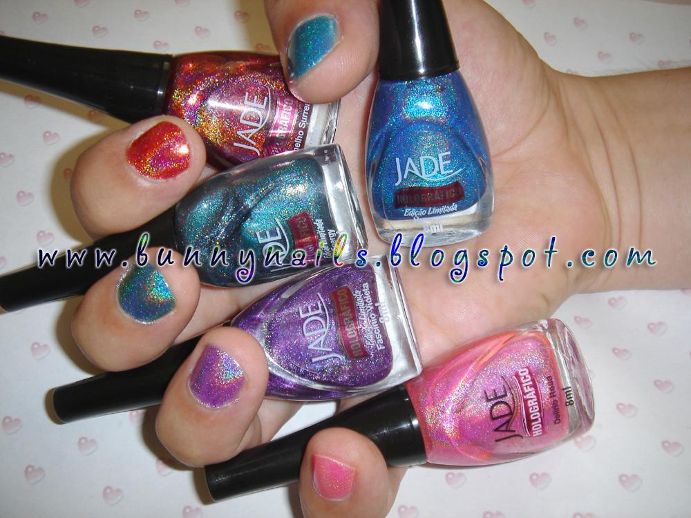 Bunny Nails: Jade Holografico Haul + Swatches