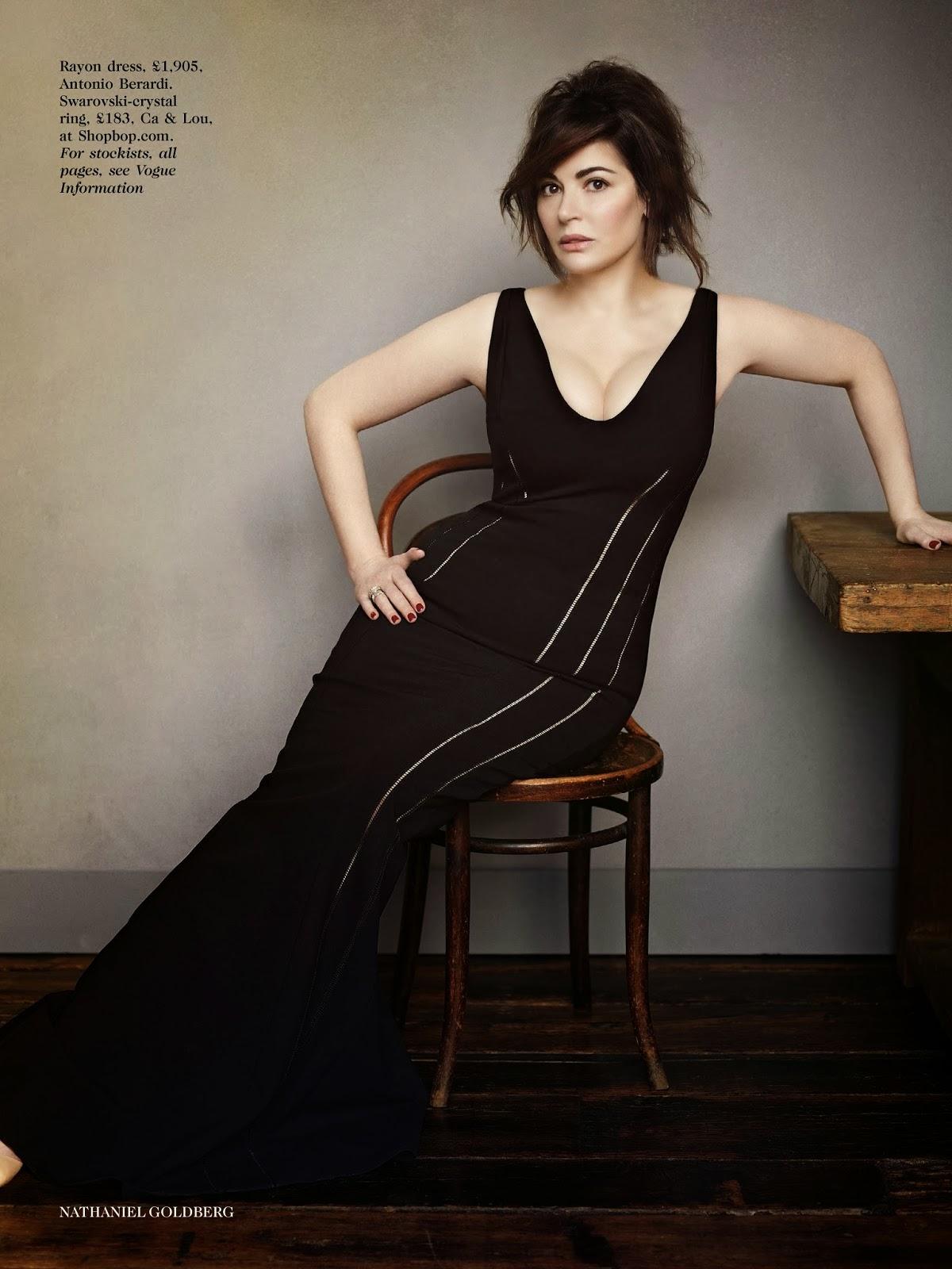 Nigella Lawson - Vogue Magazine UK, April 2014