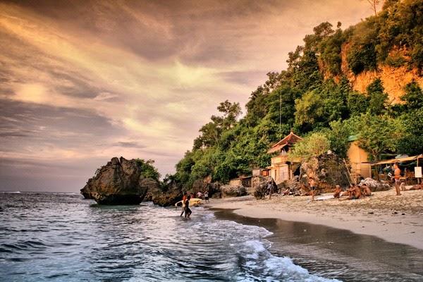 kawasan wisata pantai wisata dreamland