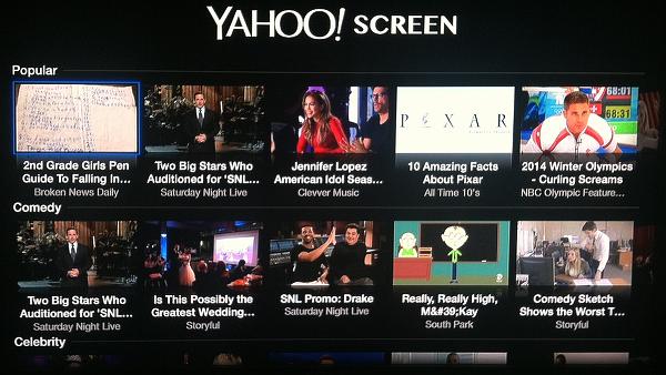 Yahoo fechou seu serviço de vídeo chamado Yahoo Screen