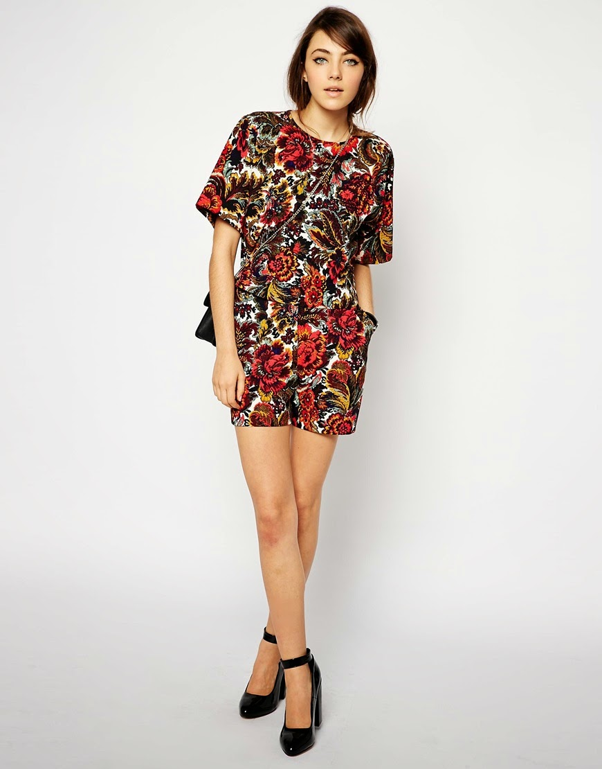 tapestry shorts