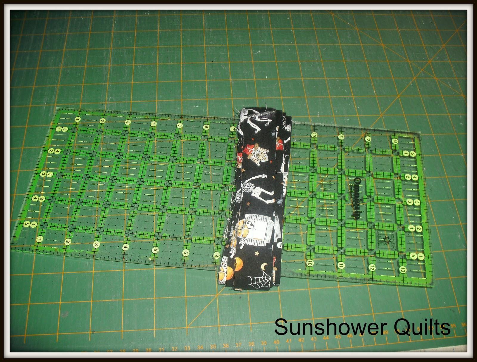 Sunshower Quilts Candy Corn Quilt! # Sunshower Goes_064641