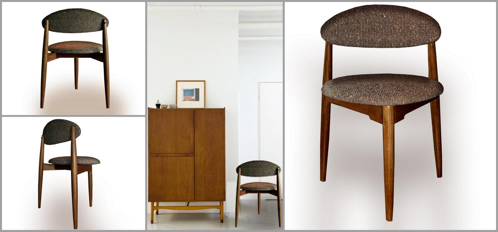 Laboratorio de objetos muebles recuperados deco for Silla escandinava