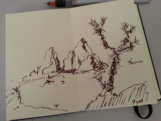 joshua tree sketch