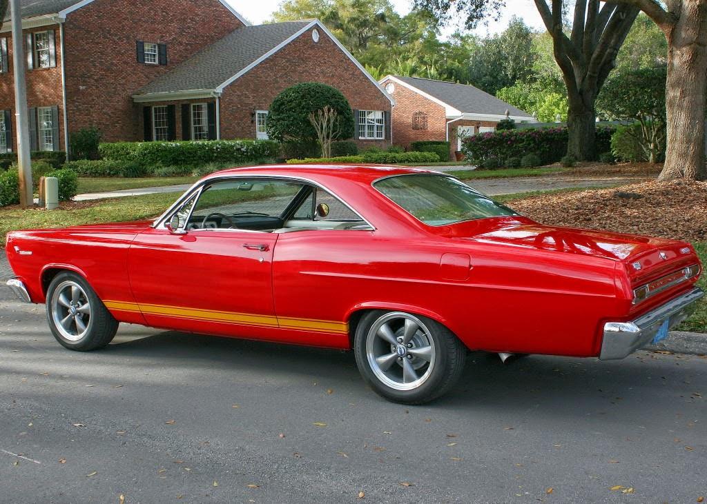 american classic cars  mercury comet cyclone gt  door hardtop