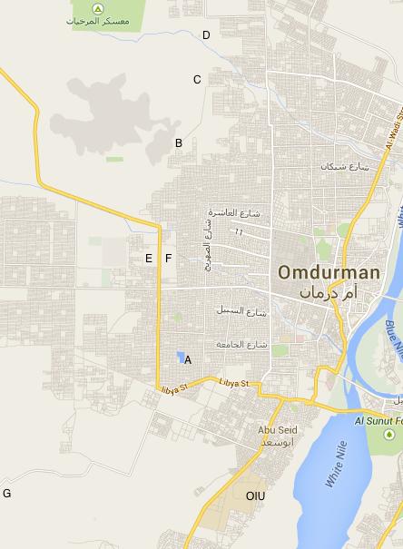 Birding Sudan Searching for wetlands in Omdurman