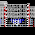 مخطط فندق SAMA سلسلة فنادق سما اوتوكاد dwg