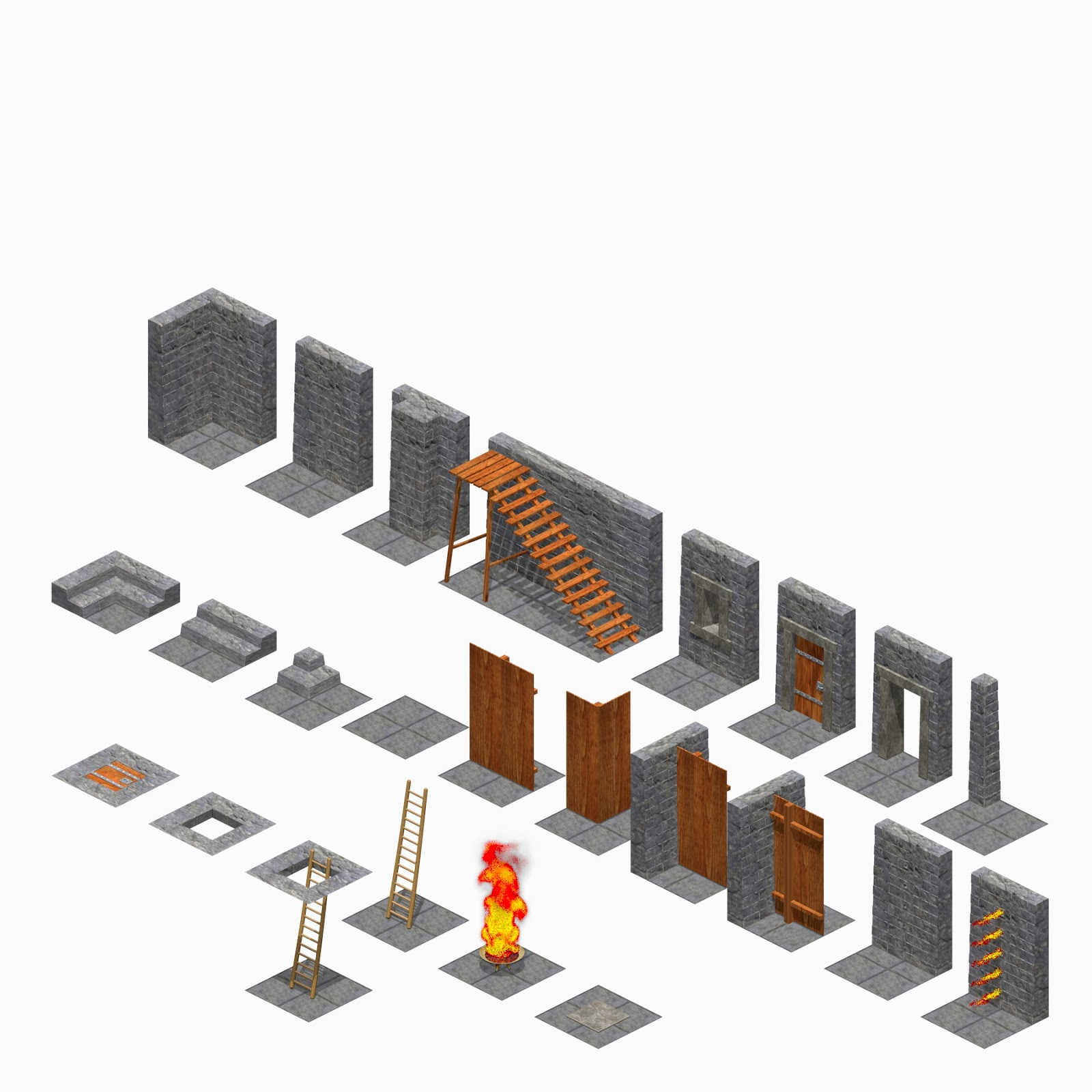 3d Dungeon Tiles 28 Images Tmp New Uk