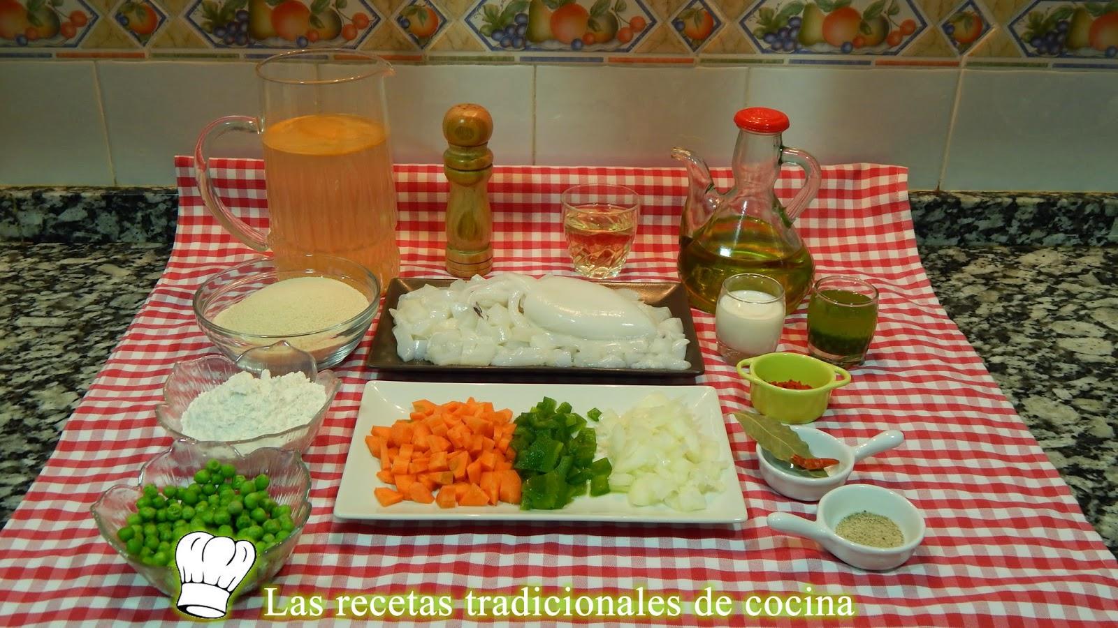 Albondigas de choco en salsa