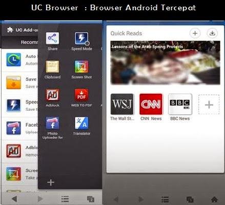 UC Browser - Browser Android Terbaru
