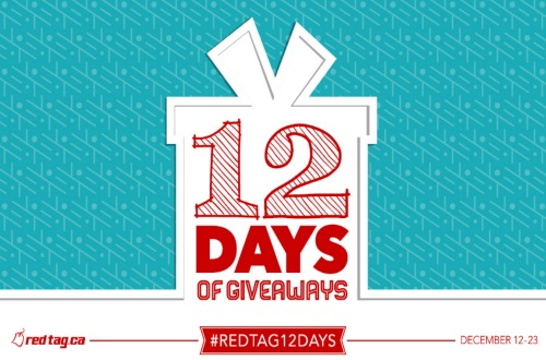 RedTag 12 Days of Giveaways