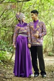 Foto Baju Muslim Couple Model Terbaru