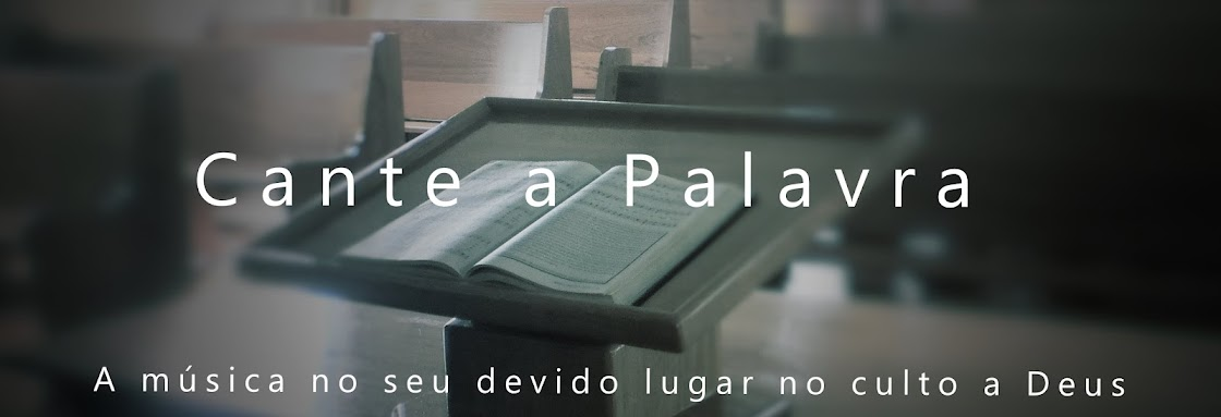 CANTE A PALAVRA