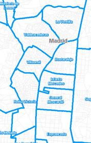 Confinadas en Tetuán las Zonas Básicas de Salud de Villaamil e Infanta Mercedes