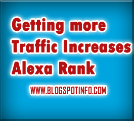 Getting More Traffic Increases Alexa Rank
