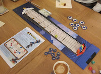 The Abandon Ship board at the start of the game