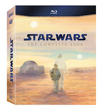 """STAR WARS"" - THE COMPLETE SAGA ON BLU-RAY"