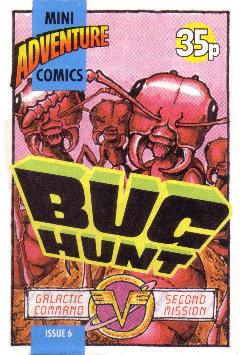 Mini Adventure Comics #6<br>Bug Hunt
