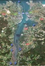 Dónde ver aves en la Ría de Ribadeo (Google Maps)