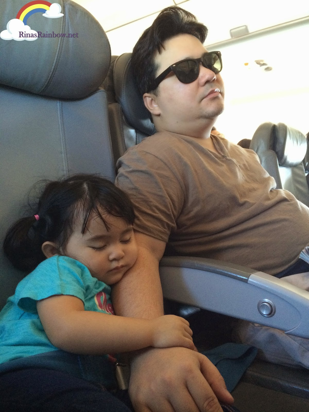 father and daughter plane ride