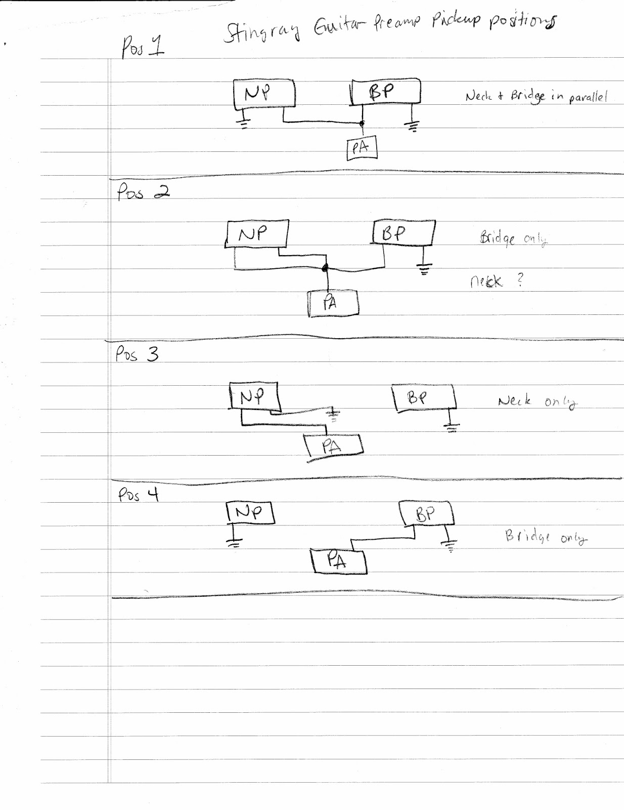 musicman stingray wiring diagram   32 wiring diagram