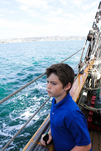 homeschool field trip aboard the californian tall ship