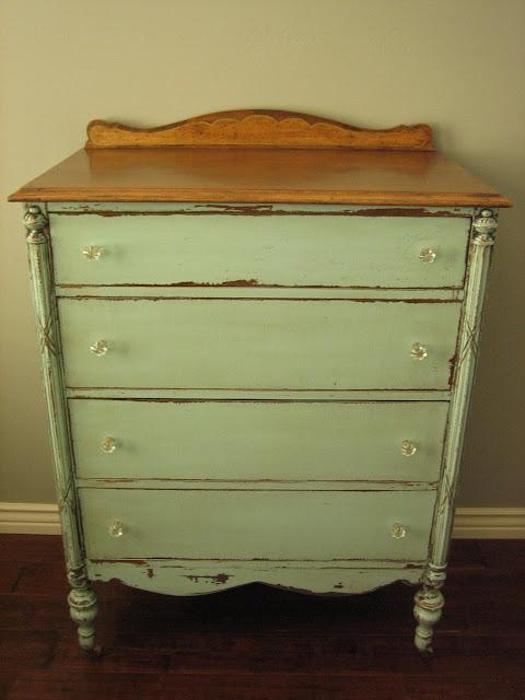 european paint finishes cottage green dresser. Black Bedroom Furniture Sets. Home Design Ideas