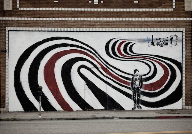 Elliott smith figure 8 mural restored on his birthday for Elliott smith mural