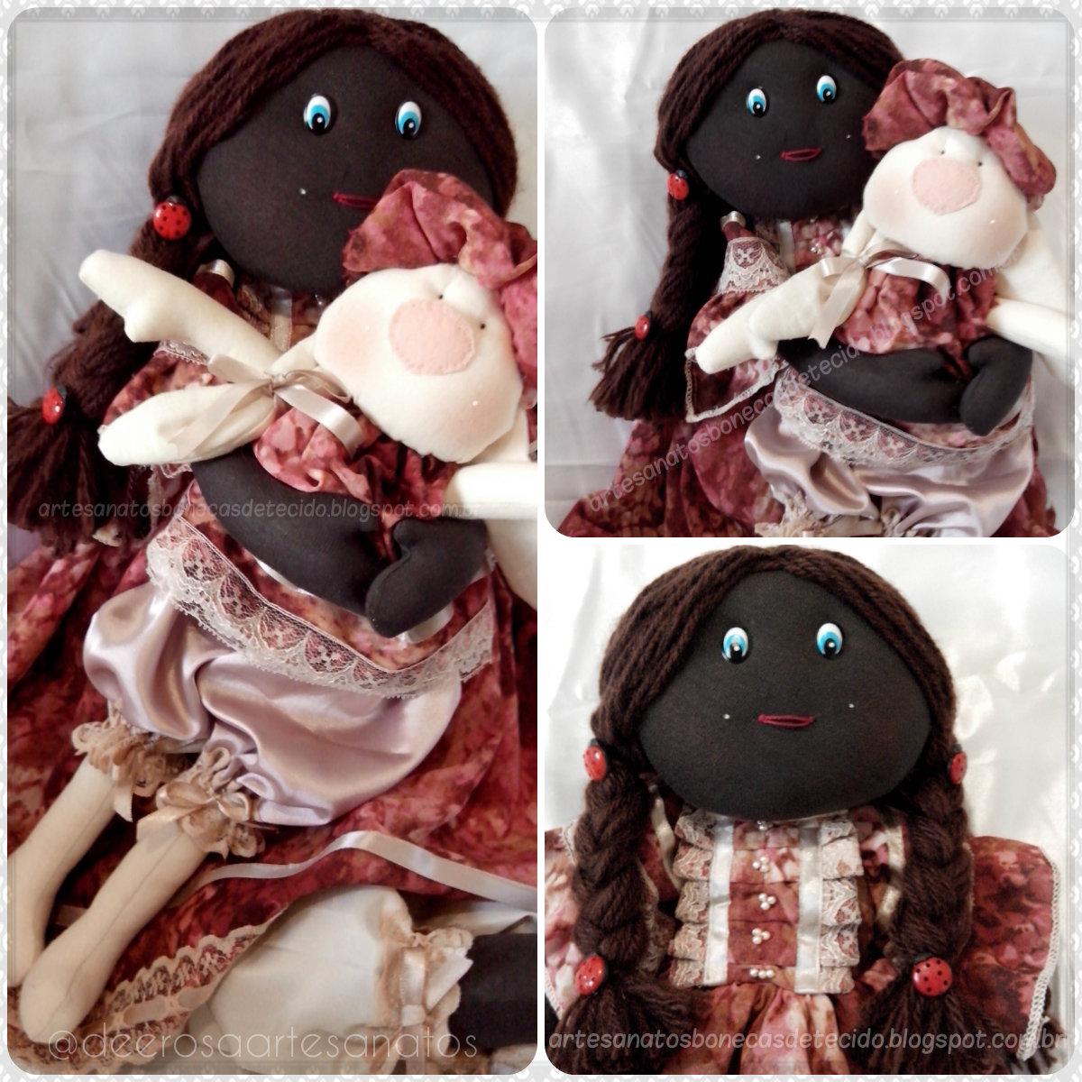 Boneca Preta, negra