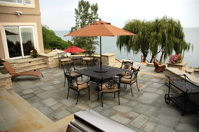 Relaxing backyard design ideas backyard and patios for Pisos para patios exteriores
