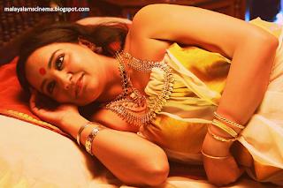 Lena in Malayalam movie 'Ayal'