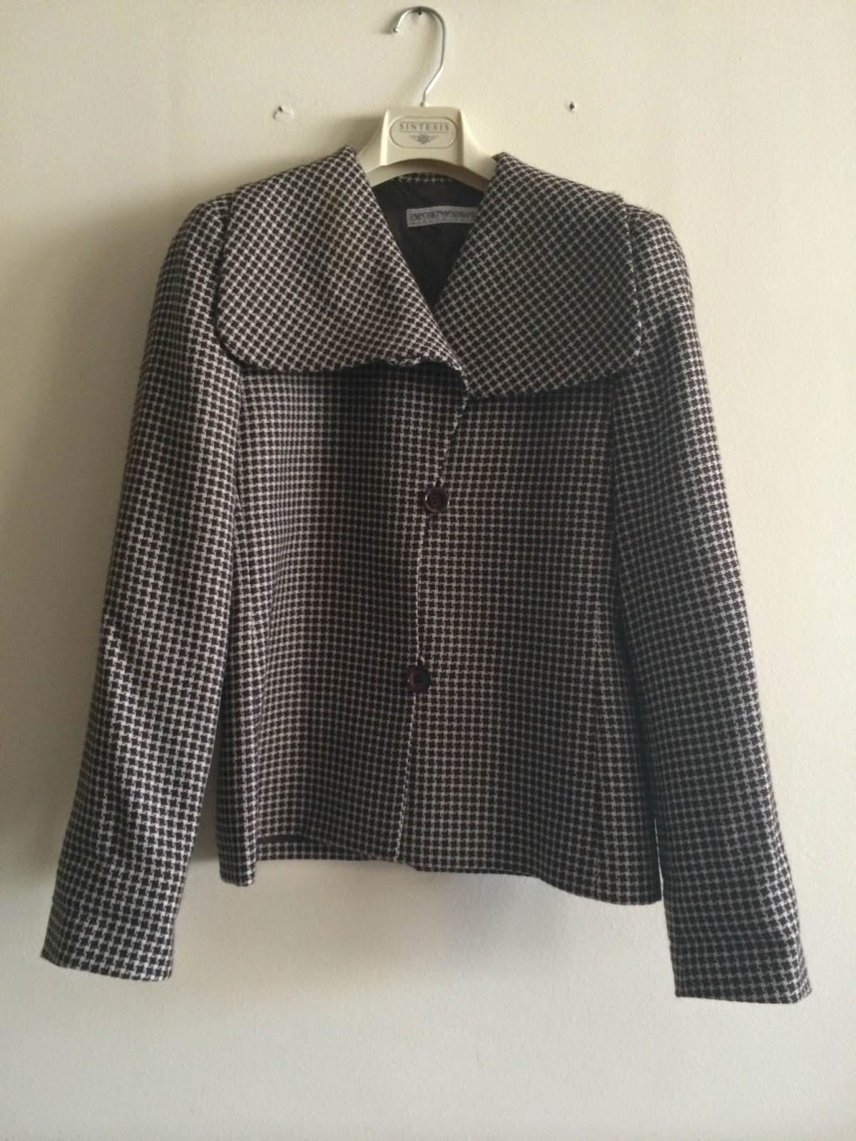 casaco emporio armani