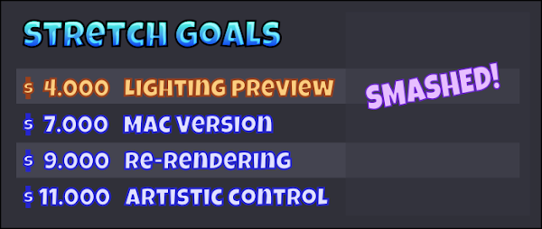 Sprite DLight Kickstarter Link Update 4
