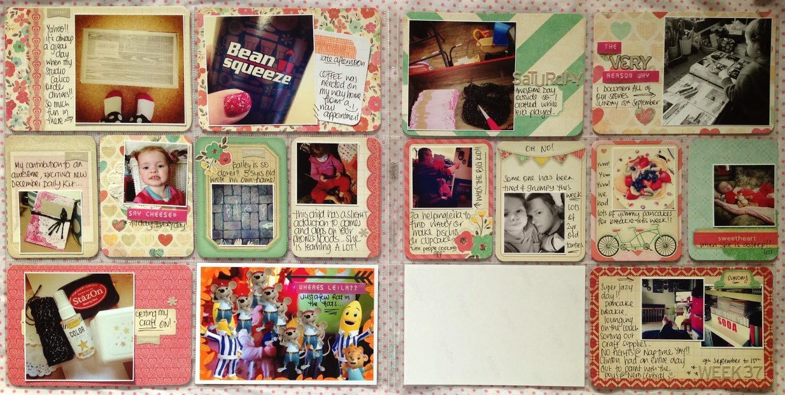 How to scrapbook yahoo - I Had Quite A Few Photos To Use For This Week So I Wanted To Keep It Nice And Simple Ive Used One Of The New Becky Higgins Project Life Themed Card