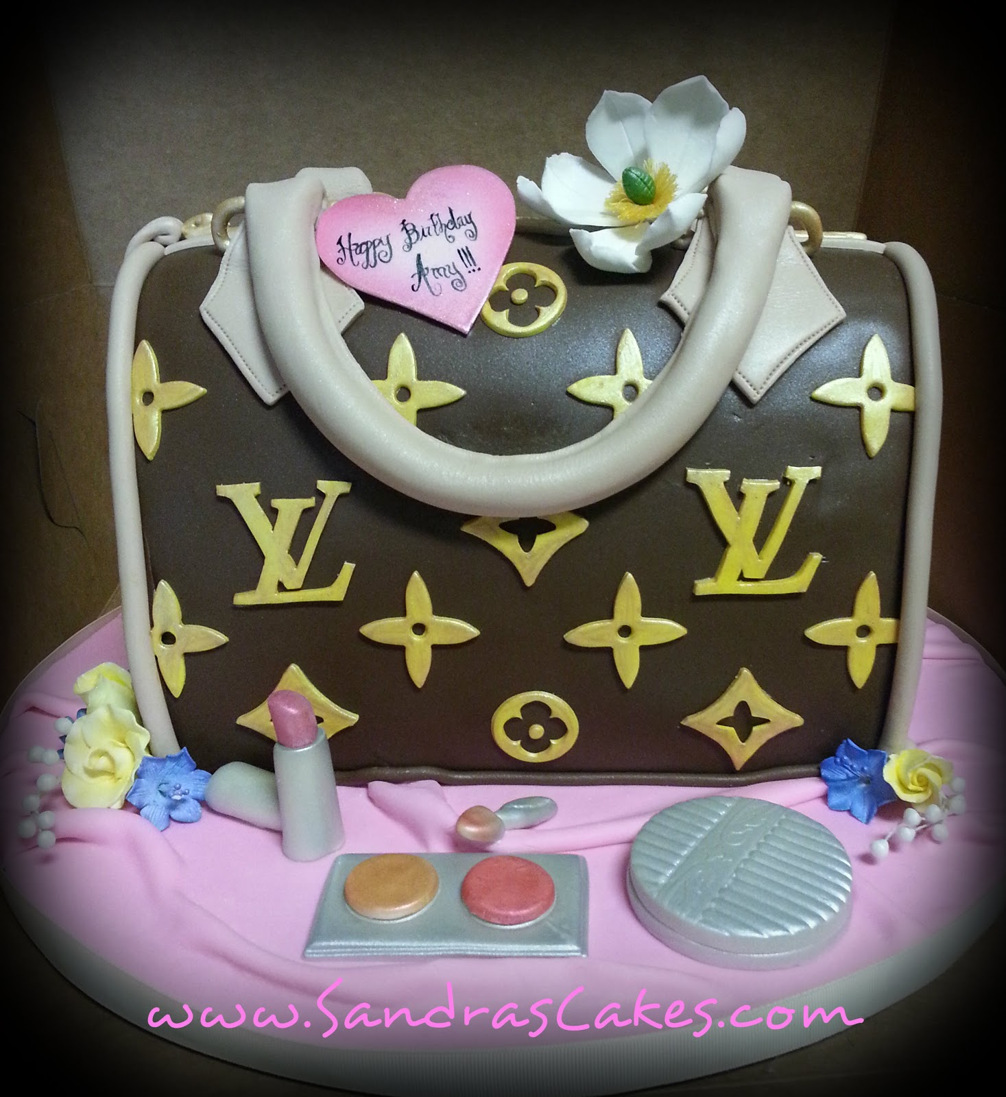 On Birthday Cakes Designer Handbag