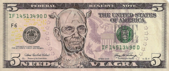 arte en billetes