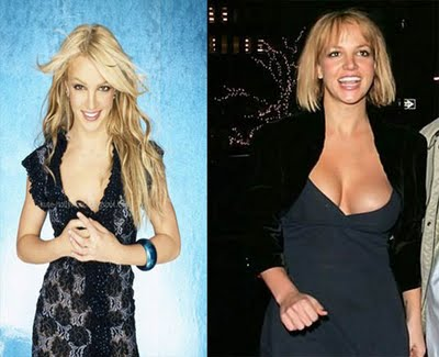 Haven't seen britney comarative boob size hot and