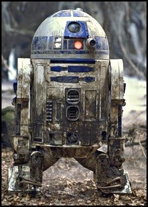"""R2-D2 en """"El imperio contraataca"""" (1980)"""