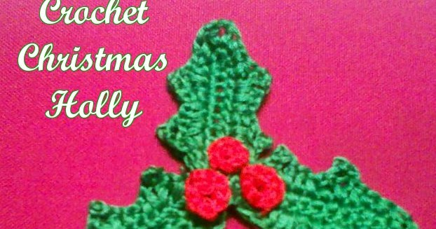 Earning-My-Cape: Christmas Holly {free crochet pattern}